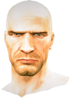 Dead rising Shaved Head (Dead Rising 2)