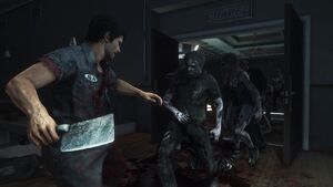 Dead rising 3 nick with meat cleaver