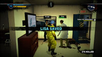 Dead rising lisa saved