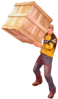 Dead rising crate holding