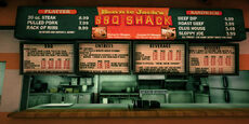 Dead rising bennies bbq menu