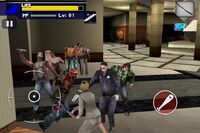 Dead rising mobile jessica with sword