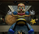 Bee Clock PP Sticker