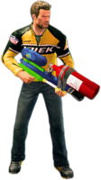 Dead rising snowball cannon holding