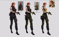 Dead rising 2 Off the Record concept art from main menu art evil stacey (4)