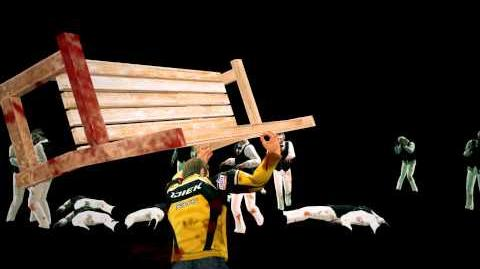 Dead rising 2 bench
