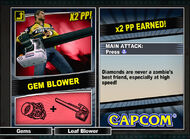 Dead rising 2 combo card Gem Blower