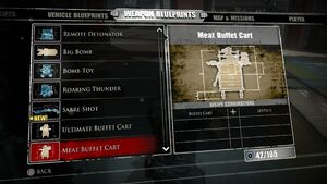 Meat Buffet Cart Blueprints