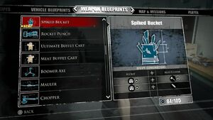 Spiked Bucket Blueprints