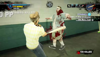 Dead rising 2 spiked bat hitting zombie 00123 justin tv