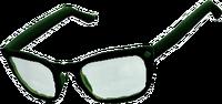 Dead rising Black Rimmed Glasses