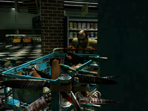 Dead rising medicine run steven with isabella in cart