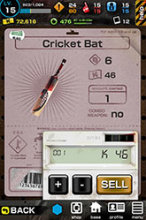 Dead rising the survival cricket bat