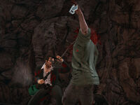 Dead rising grass trimmer heavy attack busted heads (3)
