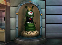 Dead rising URANUS ZONE Amusement park games alien one eyed green