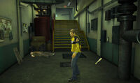 Dead rising off the record SCARE ZOMBIE ZOMBIES Royal Flush Plaza stairs
