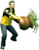 Dead rising round potted plant combo