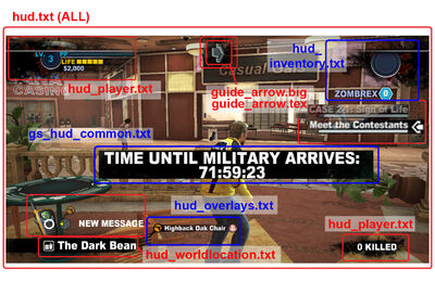 Dead rising 2 modsHUD all items circled