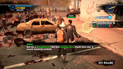 Dead rising 2 case 0 Handle With Care no broadsword