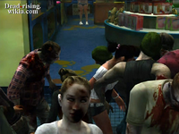 Dead rising heather getting eaten outside childs play