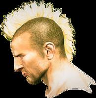 Dead rising Mohawk Hair 2 side