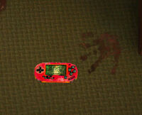 Dead rising 2 off the record green room kateys game system next to bloody hand print