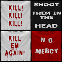 Dead rising TIR banners kill no mercy shoot them in the head
