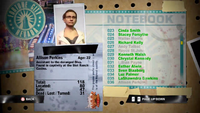 Dead Rising allison notebook