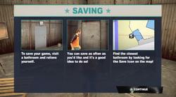 Dead rising 2 Case 0 saving explation screen saving