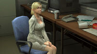 Dead rising jessie at chair