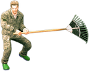 Dead rising leaf rake combo