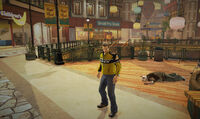 Dead rising off the record SCARE ZOMBIE ZOMBIES Royal Flush Plaza Second Floor outside of childrens castle