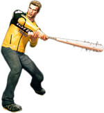 Dead rising spiked bat combo