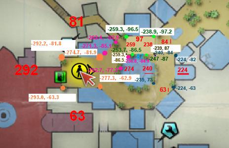 Royal Flush coordinates