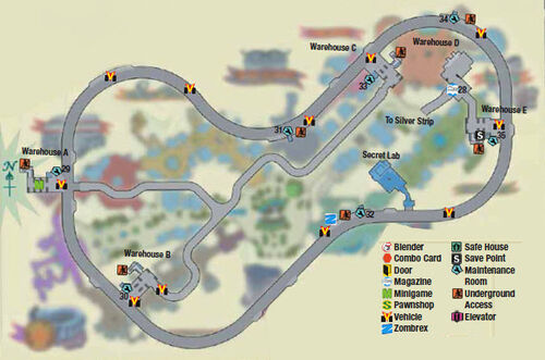 Dead rising underground map