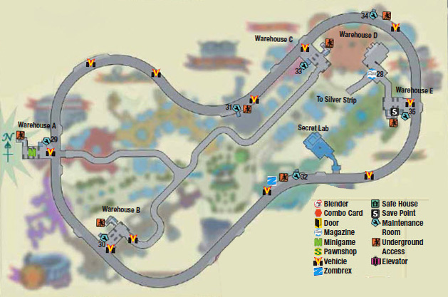 Dead rising underground map