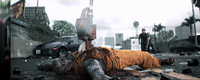Dead rising convict zombie sledge saw killed