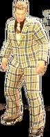 Dead rising Plaid Suit 3