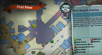 Dead rising off the record SCARE ZOMBIE ZOMBIES Slot Ranch Casino Stage MAP
