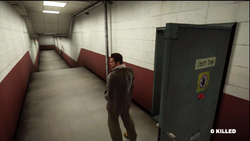 Dead rising hallway to entrance plaza beginning of game