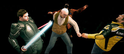 Dead rising mod adding characters WithProp LaserLightSword (3)