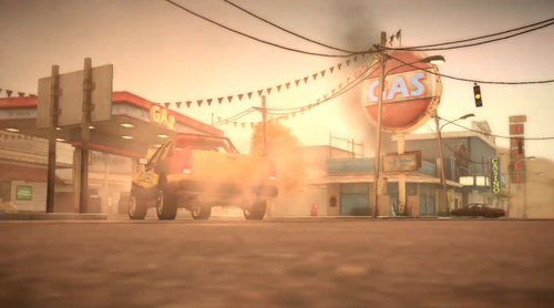 Dead rising 2 case 0 introduction entering gas station
