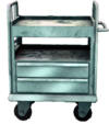 Dead rising Medical Cart