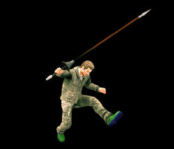 Dead rising lance jump ready
