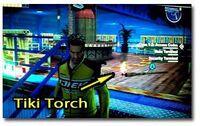 Blazing aces tiki torch location