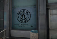 Dead rising fortune city areana wing 01 sign