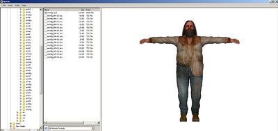 Dead rising cletus model with all texture and model files