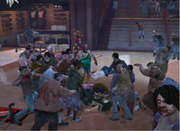 Dead rising 2 off the record arena prologue zombies attacking