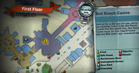 Slot ranch casino SCARE zombie stage MAP