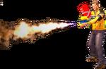 Dead rising flamethrower main